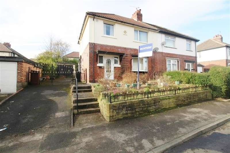 3 Bedrooms Semi Detached House for sale in Bellvue Drive, Farsley, LS28