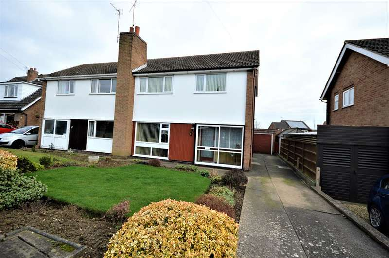 3 Bedrooms Semi Detached House for sale in Stanhope Road, Wigston, LE18 3SJ
