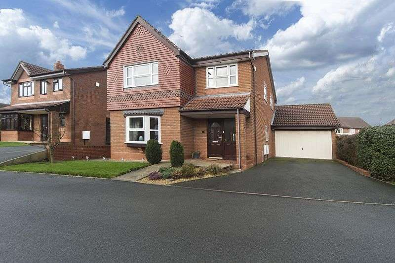4 Bedrooms Detached House for sale in Spring Meadows Close, Codsall, Wolverhampton