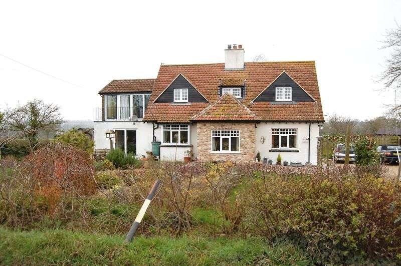4 Bedrooms Detached House for sale in Gogsham, Wedmore