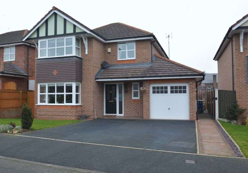 4 Bedrooms Detached House for sale in Birch Court, Llay.