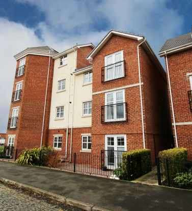 2 Bedrooms Flat for sale in 6 Partridge Close, Crewe, Cheshire, CW1 3LQ