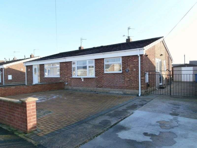 2 Bedrooms Semi Detached Bungalow for sale in Holcroft Garth, Hedon