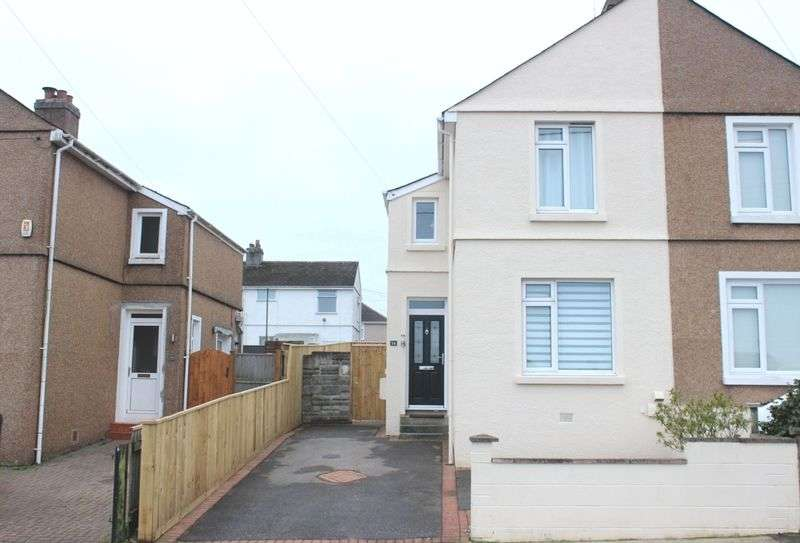 2 Bedrooms Semi Detached House for sale in Marina Road, West Park, Plymouth