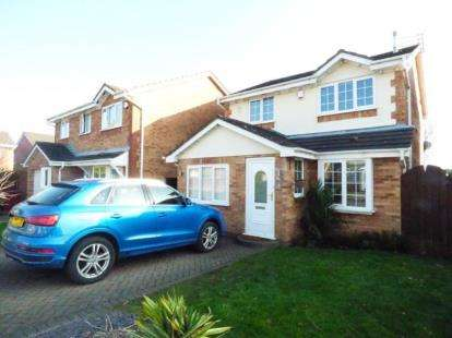 3 Bedrooms Detached House for sale in Catkin Road, Halewood, Merseyside, Uk, L26