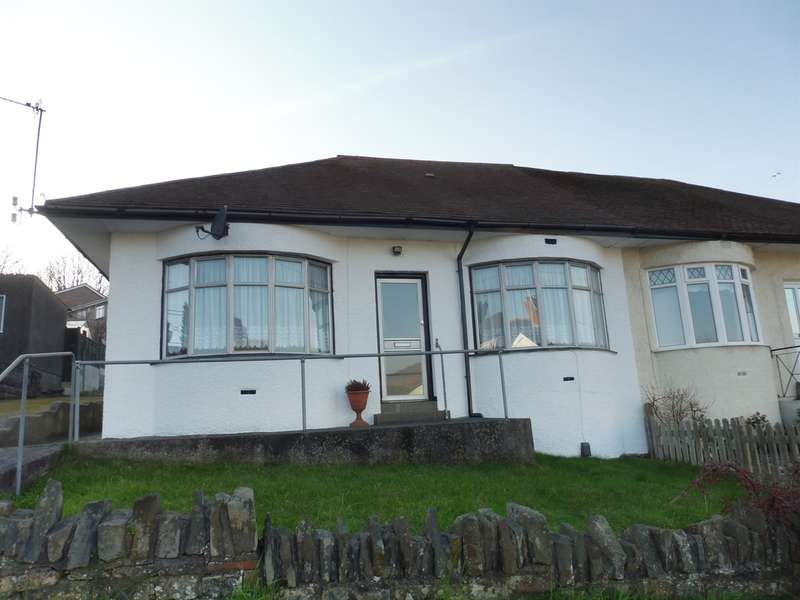 3 Bedrooms Semi Detached Bungalow for sale in Penlan Road, Llandough, Penarth