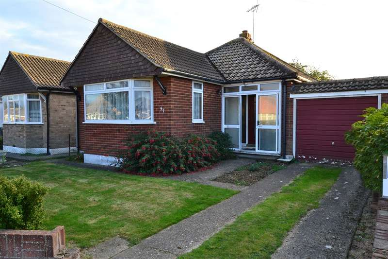 2 Bedrooms Detached Bungalow for sale in Seafield Road, Tankerton, Whitstable
