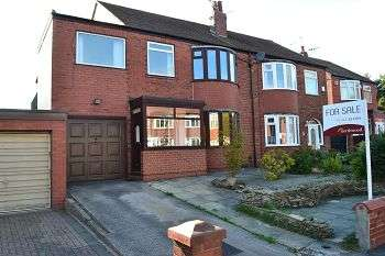 3 Bedrooms Semi Detached House for sale in Norbreck Crescent, Springfield, Wigan, WN6 7RF