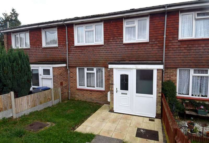 3 Bedrooms Terraced House for sale in Heath Close, Canterbury