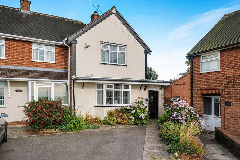 2 Bedrooms Semi Detached House for sale in Kitchen Lane, Wednesfield, Wolverhampton, WV11