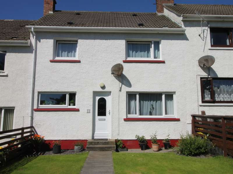 3 Bedrooms Terraced House for sale in 11 Inver Park, Lochinver, IV27 4LN