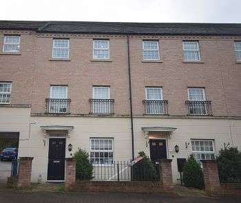 4 Bedrooms Terraced House for sale in Falstaff Court, Chellaston, Derby, DE73 5BA