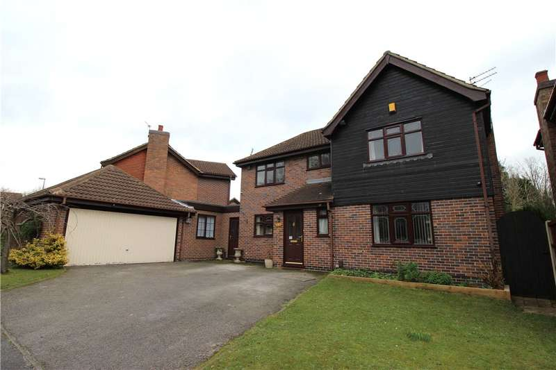 4 Bedrooms Detached House for sale in Rosemoor Lane, Oakwood, Derby, Derbyshire, DE21