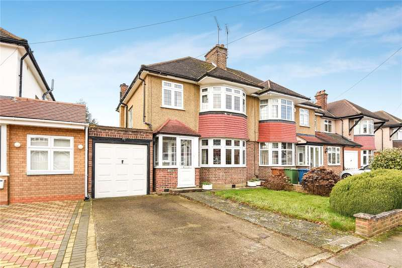 3 Bedrooms Semi Detached House for sale in The Drive, Harrow, Middlesex, HA2
