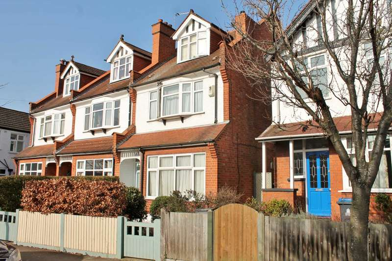 4 Bedrooms Semi Detached House for sale in Blagdon Road, New Malden
