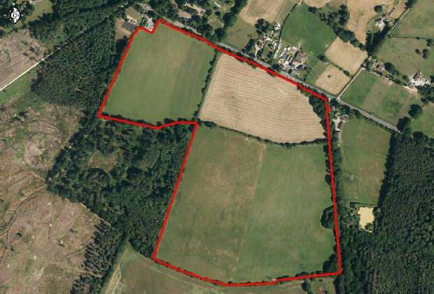 Land Commercial for sale in Ower, Romsey
