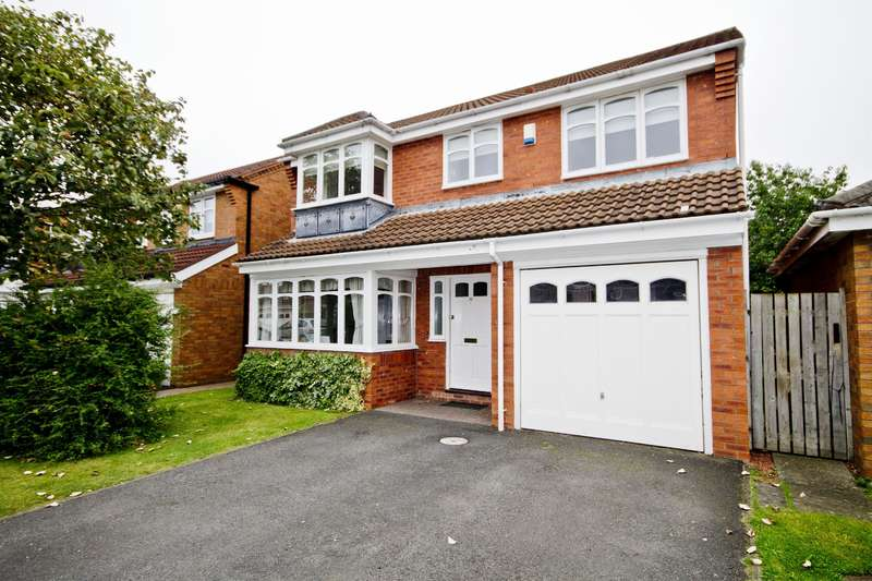4 Bedrooms Detached House for sale in Bakery Drive, Stockton-on-Tees, TS19 0SN