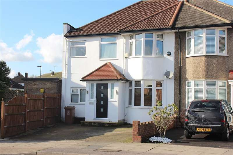 4 Bedrooms Semi Detached House for sale in Northumberland Avenue, Welling, Kent, DA16 2PY