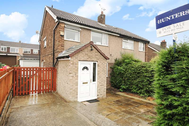 4 Bedrooms Semi Detached House for sale in Woodlea Road, Yeadon, Leeds, LS19 7BJ