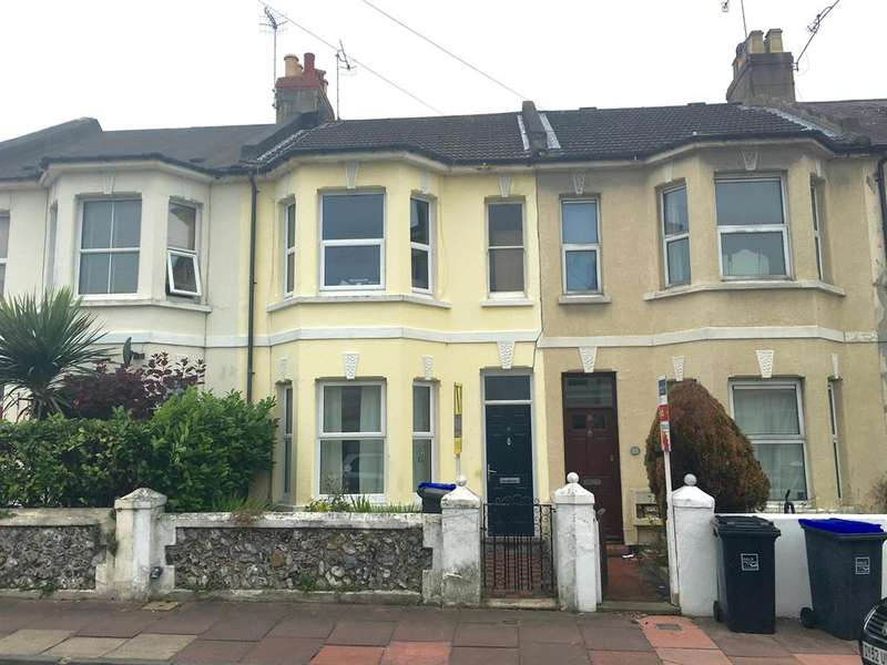 3 Bedrooms Terraced House for sale in Gordon Road, Worthing, West Sussex, BN11 1DB
