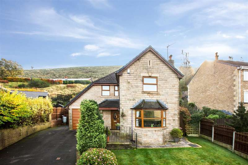 4 Bedrooms Detached House for sale in Sun Drive, Littleborough, OL15 0BB