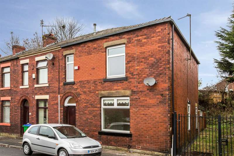 3 Bedrooms End Of Terrace House for sale in Gale St, Rochdale, OL12 0SQ