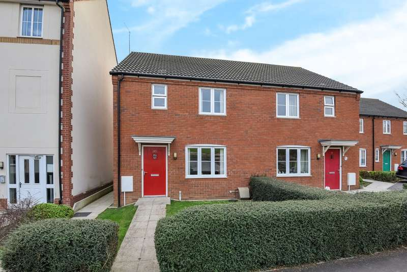 3 Bedrooms Semi Detached House for sale in Crocker Way, Wincanton