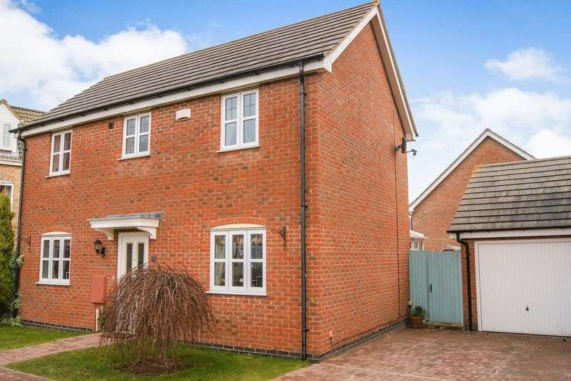 3 Bedrooms Detached House for sale in Tom Childs Close, Grantham