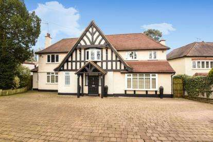 5 Bedrooms Detached House for sale in Barnet Lane, Totteridge