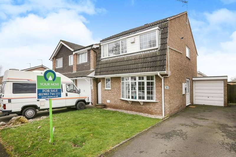 3 Bedrooms Detached House for sale in Mercia Drive, Wolverhampton, WV6