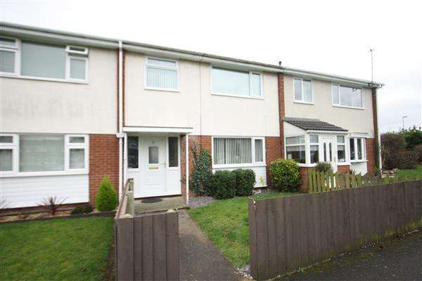 3 Bedrooms Terraced House for sale in Gateacre Court, Ellesmere Port