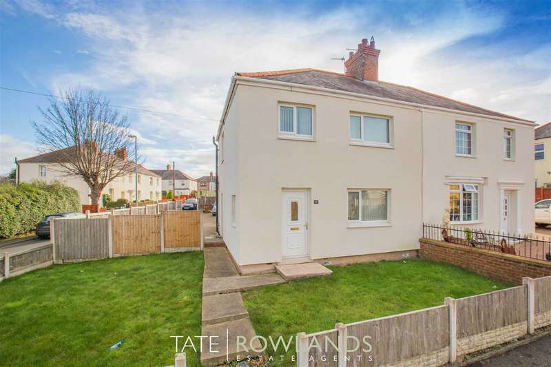 3 Bedrooms Semi Detached House for sale in Kings Road, Connahs Quay