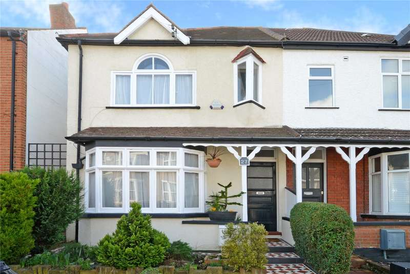 4 Bedrooms Semi Detached House for sale in Hampton Road, Worcester Park, KT4