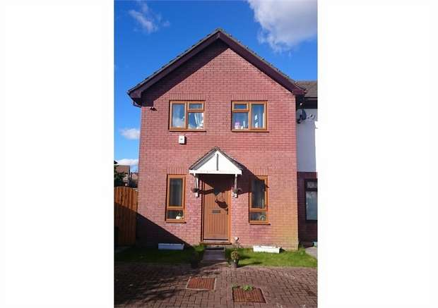 3 Bedrooms End Of Terrace House for sale in Cwrt Cilmeri, Morriston, Swansea, West Glamorgan