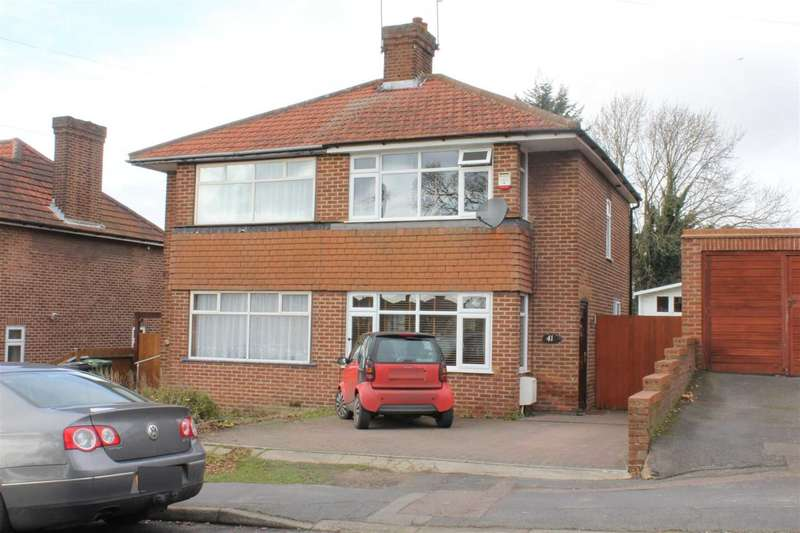 2 Bedrooms Semi Detached House for sale in 2 DOUBLE BED with APPROX 125` REAR GARDEN in NASH MILLS, HP3
