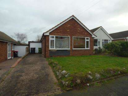 2 Bedrooms Bungalow for sale in Mill Crescent, Kingsbury, Tamworth, Warwickshire