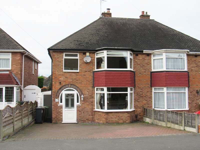 3 Bedrooms Semi Detached House for sale in Baddesley Road, Solihull