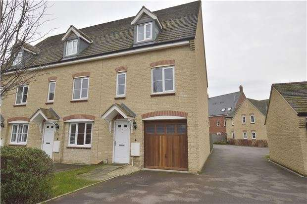 3 Bedrooms End Of Terrace House for sale in Butterfield Court, Bishops Cleeve, GL52 8RZ
