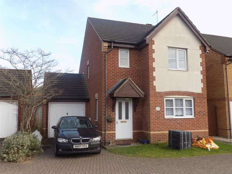 3 Bedrooms Detached House for sale in Cagney Drive, Abbey Meads
