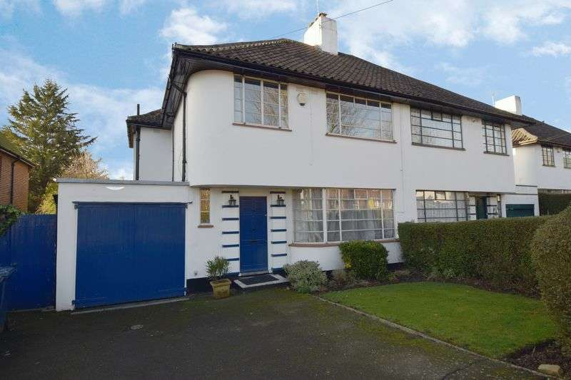4 Bedrooms Semi Detached House for sale in Ossulton Way, Hampstead Garden Suburb, London N2
