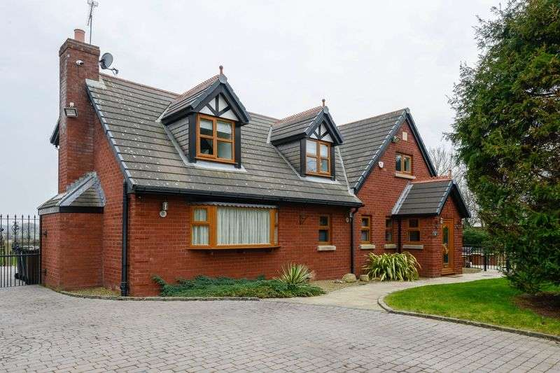 4 Bedrooms Detached House for sale in Pygons Hill Lane, Liverpool