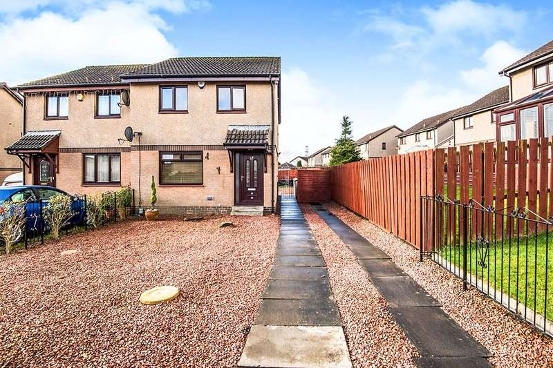 3 Bedrooms Semi Detached House for sale in Medrox Gardens, Cumbernauld, Glasgow, G67