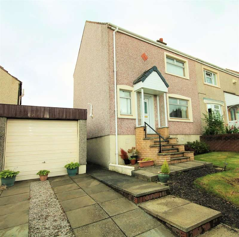 2 Bedrooms Semi Detached House for sale in Viewfield, Cairnhill, Airdrie