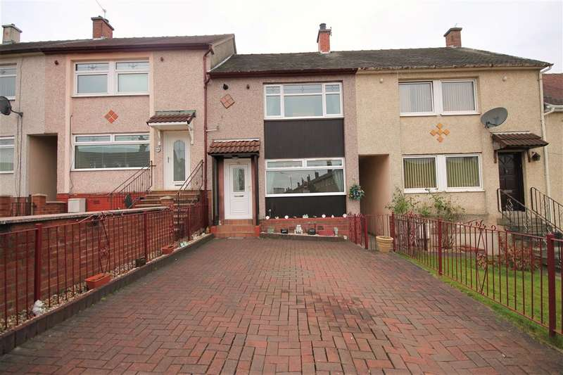 3 Bedrooms Terraced House for sale in Montgomery Avenue, Coatbridge