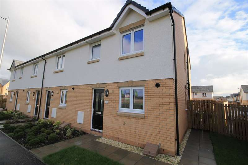 3 Bedrooms Semi Detached House for sale in Corvus Place, Ravenscraig, Motherwell