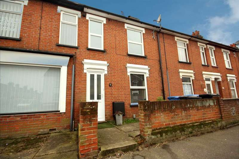 2 Bedrooms Terraced House for sale in Melville Road, Ipswich