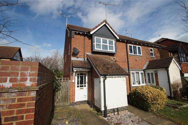 1 Bedroom Maisonette Flat for sale in Filey Spur, Cippenham