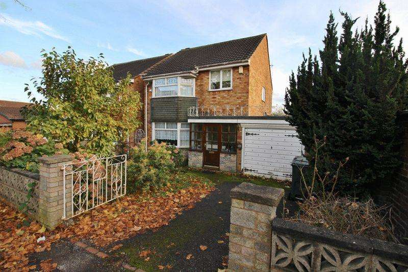 3 Bedrooms Detached House for sale in Hardy Road, Wednesbury