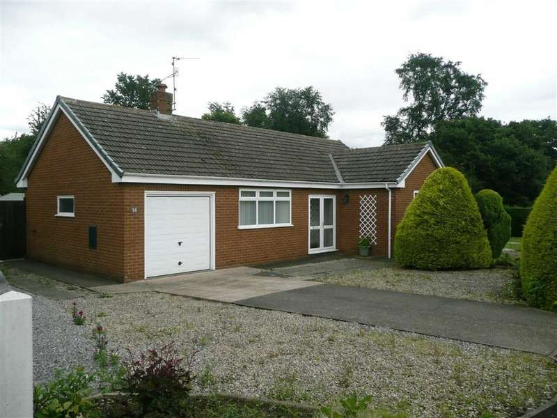 2 Bedrooms Detached Bungalow for sale in Milldale Close, Holme Hall, Chesterfield, Derbyshire, S40