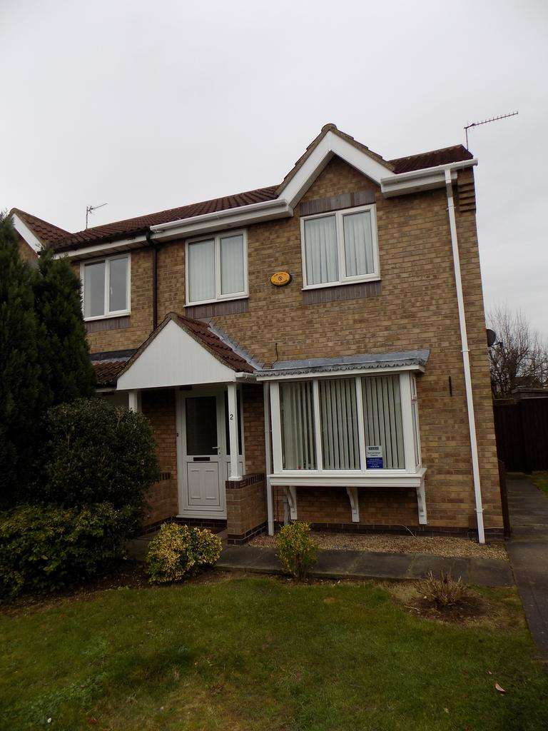 3 Bedrooms Semi Detached House for sale in Viking Close, Immingham DN40